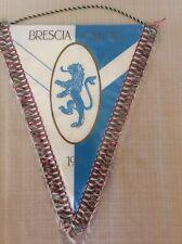 GAGLIARDETTO UFFICIALE CALCIO BRESCIA CALCIO 1911 CON FRANGE TRICOLORI