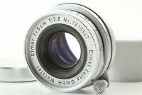 【 Excellent+++++ 】 Leica Leitz Elmar 5cm 50mm f/2.8 LTM L39 Lens from JAPAN
