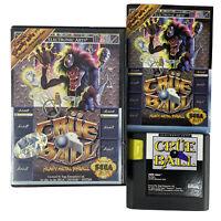 Crue Ball Motley Crüe Heavy Metal Pinball Sega Genesis Game Complete With Manual