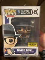 Funko Pop! Clark Kent Superman Hot Topic Exclusive Vaulted New Protector 145