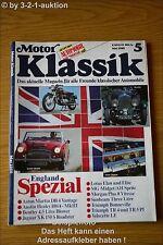 Motor Klassik 5/86 Bentley Healey Aston Martin MG