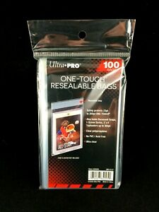 SEALED Pack of Ultra PRO One Touch Reseable Bags - 100 Total Bags