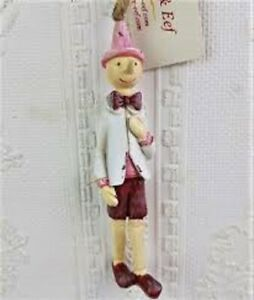 6PR0654 Clayre & Eef - Dekohänger Pinocchio