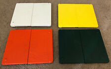 The Ultimate Martial Arts Board Rebreakable Lot of 4 White Yellow Orange Green
