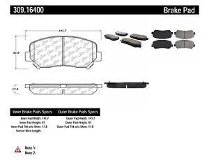 Disc Brake Pad Set-Sport Brake Pads Front Stoptech fits 2013 Dodge Dart