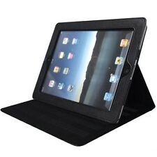 MAGNETIC IPAD 2 STYLISH SMART COVER PU LEATHER CASE WITH STAND BLACK IPAD2