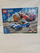 LEGO City Set #60242 Police Highway Arrest w/ Duke Detain & Vito 185 pcs. New