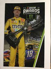 2019 NASCAR Awards Banquet Program- Kyle Busch