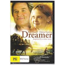 DVD DREAMER Kurt Russell Dakota Fanning 2005 True Story Horse Racing R4 [BNS]