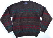 Vtg Pendleton Wool Sweater M L Mens Knit Southwestern Aztec USA Pullover 80s 90s