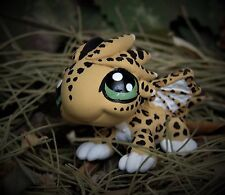 Littlest Pet Shop jaguar Dragon ooak custom figure LPS fantasy wings leopard