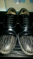 AUTHENT ALEXANDER MCQEEN MCQ FEATHER DETAIL DERBY SHOES UK8.5 EU42.5 RRP $1100