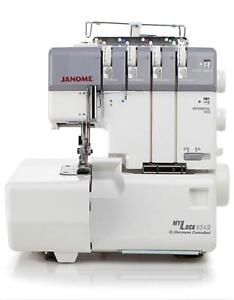 Janome MyLock 634D Overlock Serger Machine with Bonus Bundle