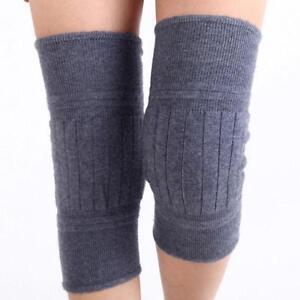 Women's Wool Blend Kneecap Warmer Men's Leg Thigh High Sock Knee Cap New Warm