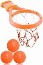 Baby & Toddler Gift Set Bath Toys Basketball Balls & Hoop, Boys & Girls Game