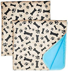 Washable Pee Pads For Dogs Whelping Reusable 2 Pack Quilted Large 35 x 31 Extra