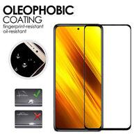 2X Pellicola Vetro Temperato  Copertura 3D Anti Schegge per il POCO X3 NFC