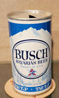 1968 BUSCH STRAIGHT STEEL TAB TOP  BEER CAN ST LOUIS MISSOURI 6 CITY