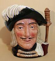 """Vintage Royal Doulton """"Aramis"""" D-6441 Large Character Jug"""