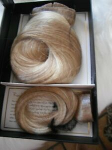 """Luxy 180g Color T18060-S 20"""" Seamless Dirty Blonde Ash Blonde Balayage Remy Clip"""