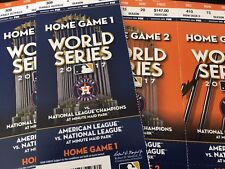 2017 World Series Ticket Stub - Astros Home game 3, WS Game 5 - 10/29/17 - mint