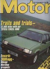 January Motor Sports Magazines