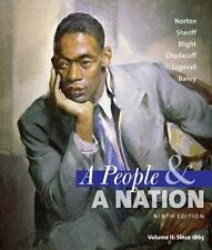 A People and a Nation Vol. II : A History of the United States Since 1865