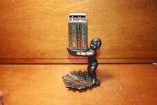 Figural Cast Iron Bryant & May Match Box Holder Vesta Safe Dispenser 1890,s