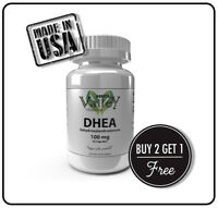 DHEA 100mg Pharmaceutical Grade, Healthy Aging, Boosts Metabolism, Free Shipping