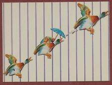 'Flying Ducks' by Brian Robson 1990's  qp452