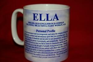 Personalised Name Origin Mug - Meaning Of Your Name, Your Personality Traits