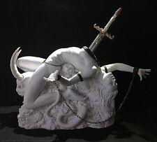 Érotique femme FANTASY Statue Lilith 2, Échelle 1/4 Jaydee Modèles Sculpture Blanc