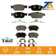 Front Rear Ceramic Brake Pads Kit For Audi A6 Quattro A7 A8
