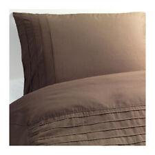 Ikea Alvine Stra King Duvet/Quilt Cover & 2 Pillowcases – Brown - 002.628.36