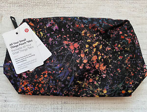 NWT Lululemon All Your Small Things Pouch MINI FLMI Flowerescent Multi