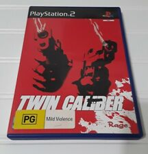 Twin Caliber - Sony PlayStation 2 PS2 PAL Europe Exclusive US Seller Horror