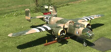 Giant 1/8 Scale B-25 MITCHELL scratch build R/c Plane Plans 100 in. wing span