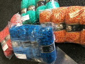 Yarn Knitting Crochet Acrylic 4x100g Balls Peria Lux Med Chunky Yarn choices