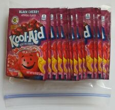 20 packets of KOOL-AID drink mix: BLACK CHERRY flavor, powdered, UNSWEETENED