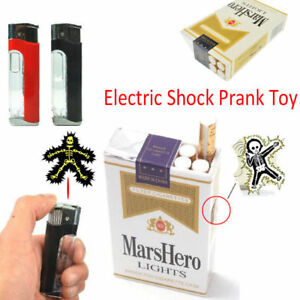 Electric Shock Lighter Utility Gadget Gag Joke Funny Prank Trick Novelty Toy UK