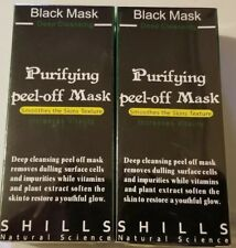 3 boxs Shills Peel off Deep Acne Cleansing face Black MASK 50ML