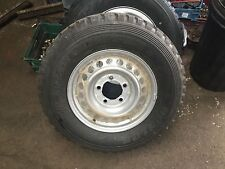 TOYOTA LAND CRUISER NEW TAKE OFF PEPPER POT STEEL WHEEL & DUNLOP TYRE 245/75/17