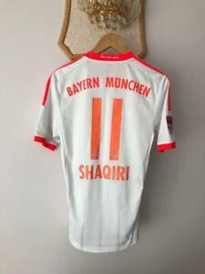 BAYERN MUNICH 2012 2013 AWAY FOOTBALL SOCCER SHIRT JERSEY ADIDAS SHAQIRI #11