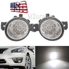 LED Fog Lights for Nissan Altima Maxima Pathfinder Rogue Sentra For Infiniti