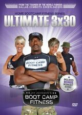 Jay Johnson,s Boot Camp Fitness: Ultimate 3x30 (DVD, 2010) New