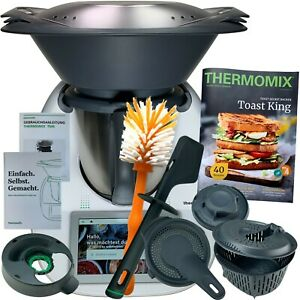 Vorwerk Thermomix TM6 *FRÜHLING* Kochbuch COOKIDOO® Bürste NEU WLAN TM 6 TOP