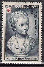 FRANCE  TIMBRE NEUF N° 876 *  CROIX ROUGE PORTRAIT DE BRONGNIART
