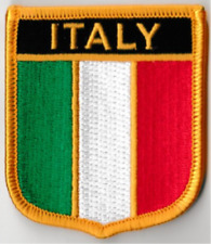 Italy Italian Country Flag Embroidered Patch T7