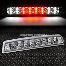 [2-ROW LED]FOR 94-02 RAM TRUCK THIRD 3RD TAIL BRAKE LIGHT STOP CARGO LAMP CHROME