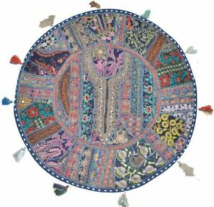 """22"""" Round Floor Pillow Floor Cushion For Kids New Baby Round Vintage Pillow"""